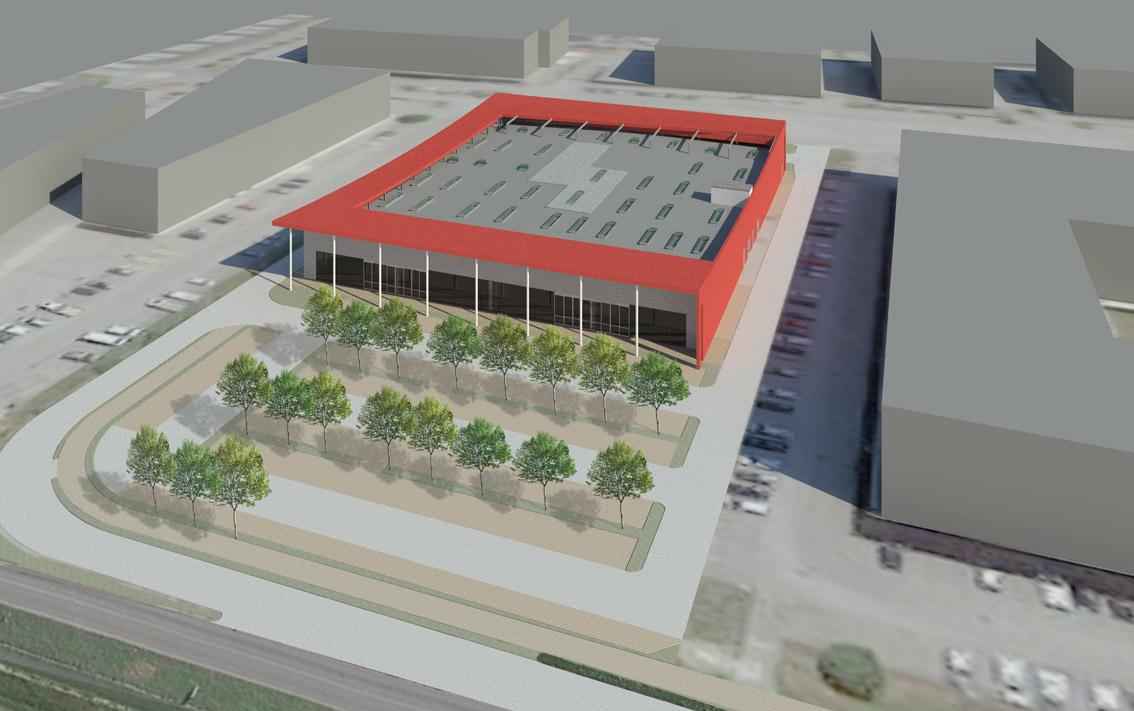 Nuovo edificio commerciale